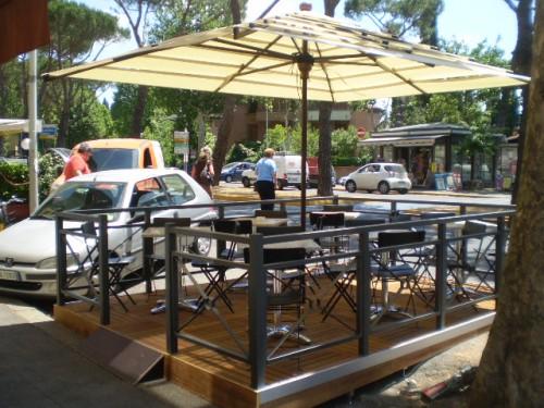 Pedana e ringhiera in ferro  mod Firenze  Lucca