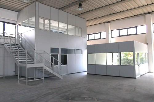 Pareti mobili per uffici e capannoni  Milano