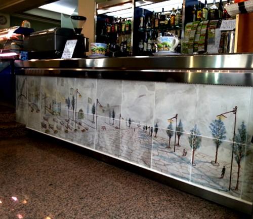 Bancone bar Acquarulo  Lagonegro