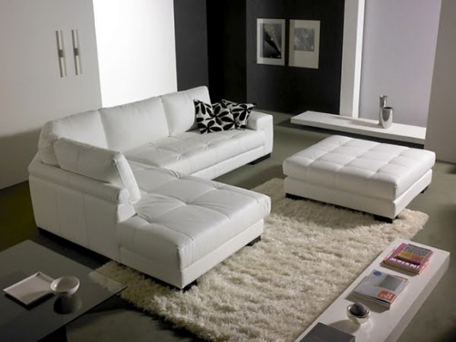Offerta divano in pelle angolare  Tino Mariani  Lissone