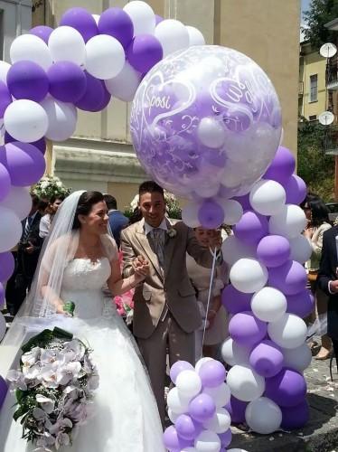 Addobbi con palloncini  salerno  Pontecagnano Faiano