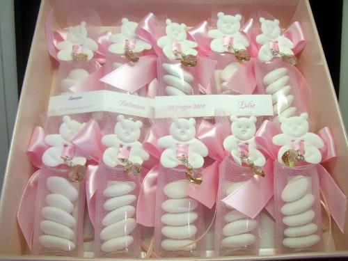 Tubo 5 confetti rosa  Stezzano
