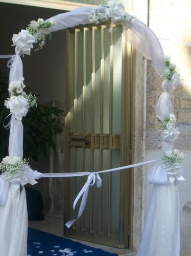 MATRIMONIO IN BIANCO E VERDE  Pontecagnano Faiano
