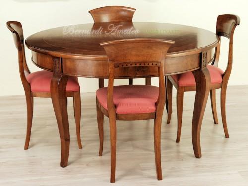 Tavolo rotondo allungabile diametro 140 cm  Ros