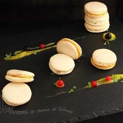 macarons cu crema de lamaie 1