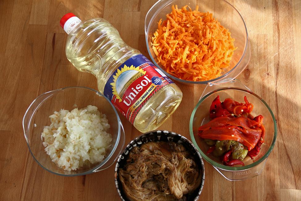 ingrediente zacusca de vinete cu morcovi