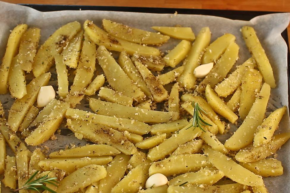 cartofi crocanti la cuptor, mod de preparare 4