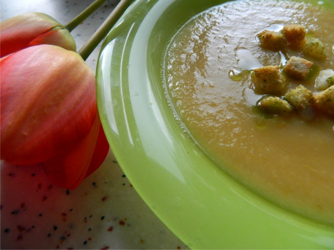 Supa-crema de pastarnac