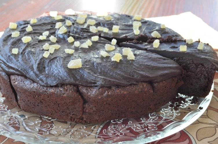 Tort criminal cu ciocolata si ghimbir