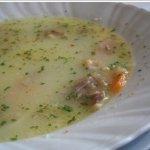 Ciorba din carne de pui cu ciuperci