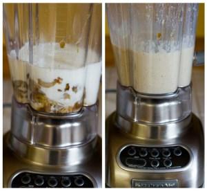 inghetata de banane blender