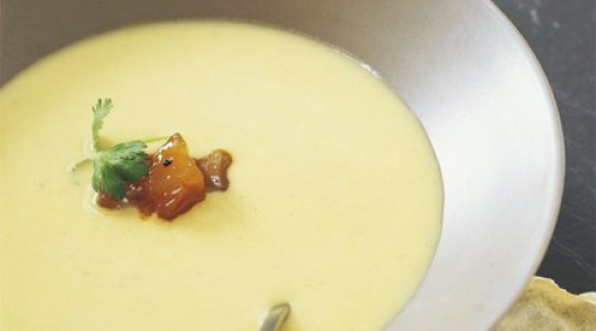 Supa crema de cartofi picanta