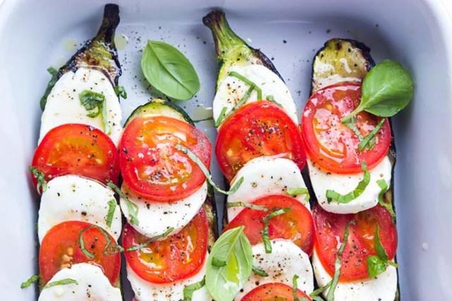 Zucchini-Caprese