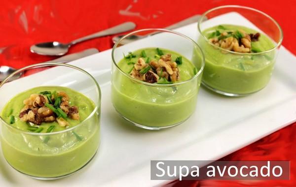 Cele mai bune retete cu avocado - Supa de avocado