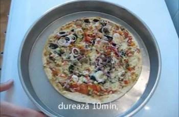 Reteta de pizza vegetariana