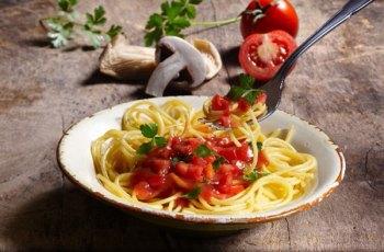 Reteta spaghete cu ciuperci
