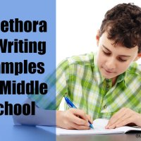 A Plethora Of Writing Examples For Middle School (& High School)
