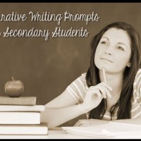 13 Narrative Writing Prompts For Secondary Students
