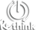 Het logo van Rethink