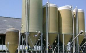 Kunststoffen silo's