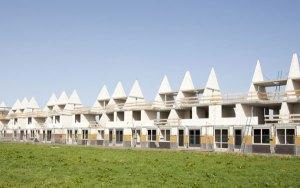 Afbeelding van polyurethaan in nieuwbouw gebouwen