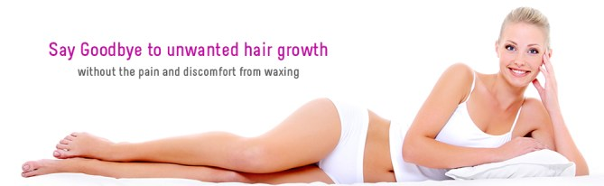 Say goodbye to unwanted hair growth without the pain and discomfort from waxing