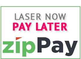 Laser Now Pay Later with ZIP PAY