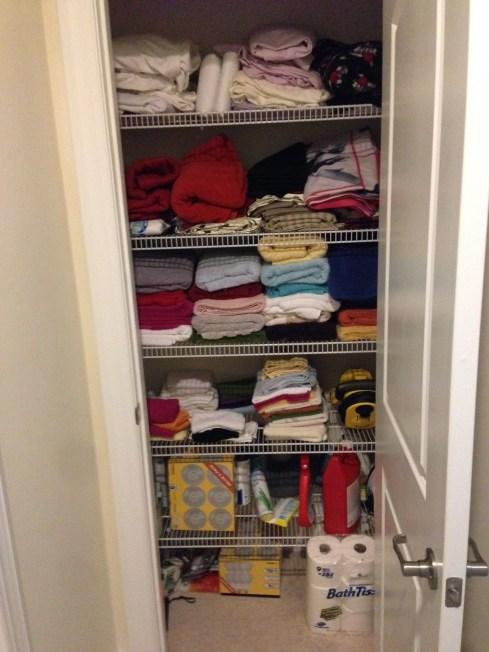 Retire29's Linen Closet
