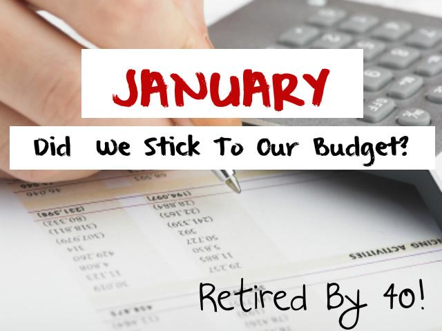 January Budget Update