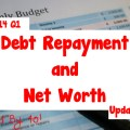 2014 Q1 Debt Repayment and Net Worth Update