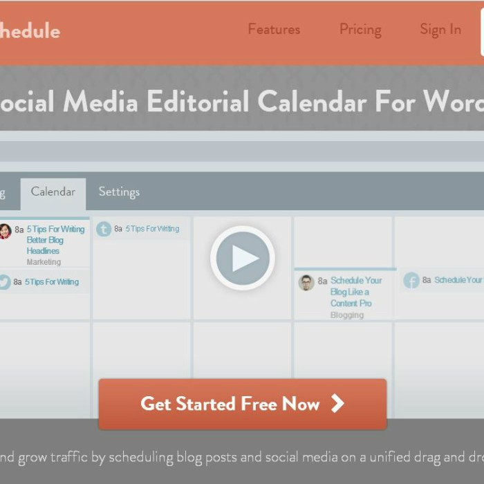 CoSchedule – Save Your Sanity and Your Blog!