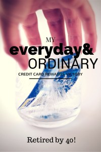 my ordinary everyday credit card rewards victory