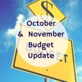 We had our highs and lows this month - so come check out our October and November Budget Update!