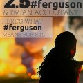 Last night, I, my husband, and my 13-month old daughter were forced to leave our home near #ferguson out of fear for our safety as acts of violence were committed by protesters near our house I am an Accountant, and I want to talk about what #ferguson means to the St. Louis economy.