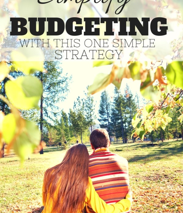 Simplify Budgeting With This One Simple Trick