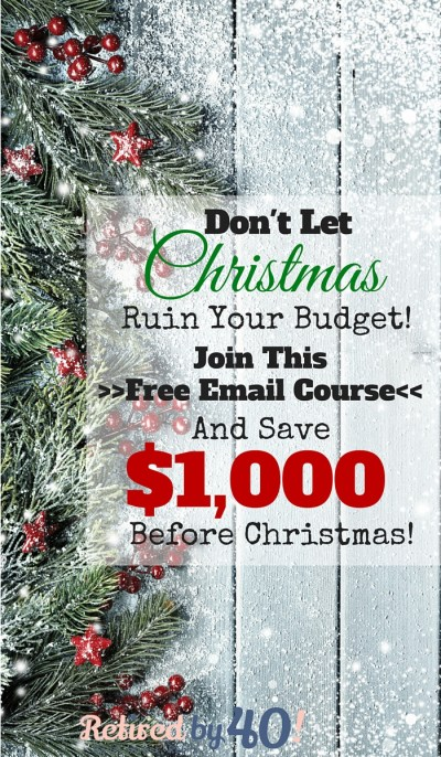 If your budget isn't quite ready for Christmas - admittedly, like me! - then fear not, because I'm bringing you a completely FREE email course jam-packed with ways to save and make extra money before Christmas, so you don't have to stretch your budget or get into credit card debt just because of the holidays.