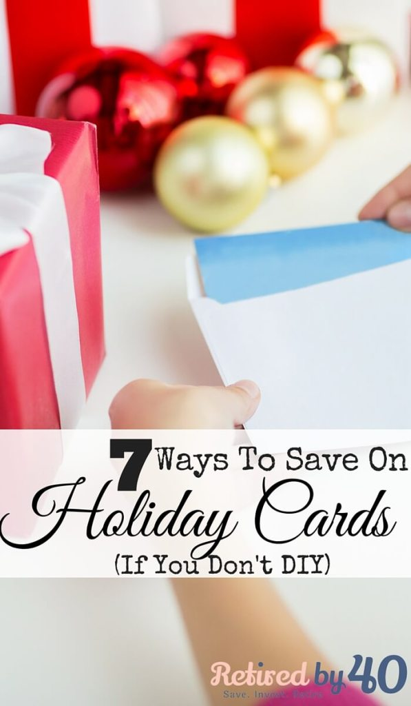 Holiday cards are a part of our Christmas traditions, but that doesn't mean they have to break the bank, now do they? Here are 7 ways to save on holiday cards, even if you don't like DIY.