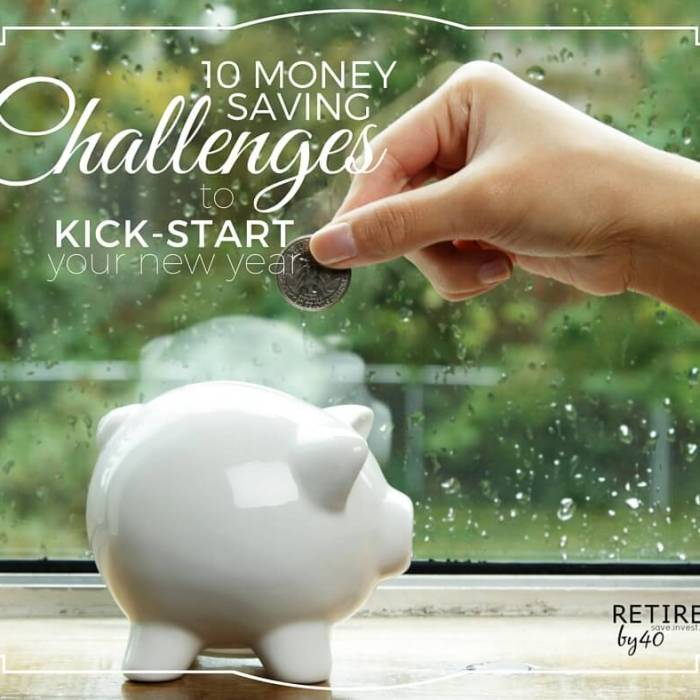 10 Money Saving Challenges To Kick-Start Your New Year
