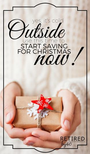 You can't breathe a sigh of relief just yet, now it the time to start saving for Christmas so next year goes even smoother!