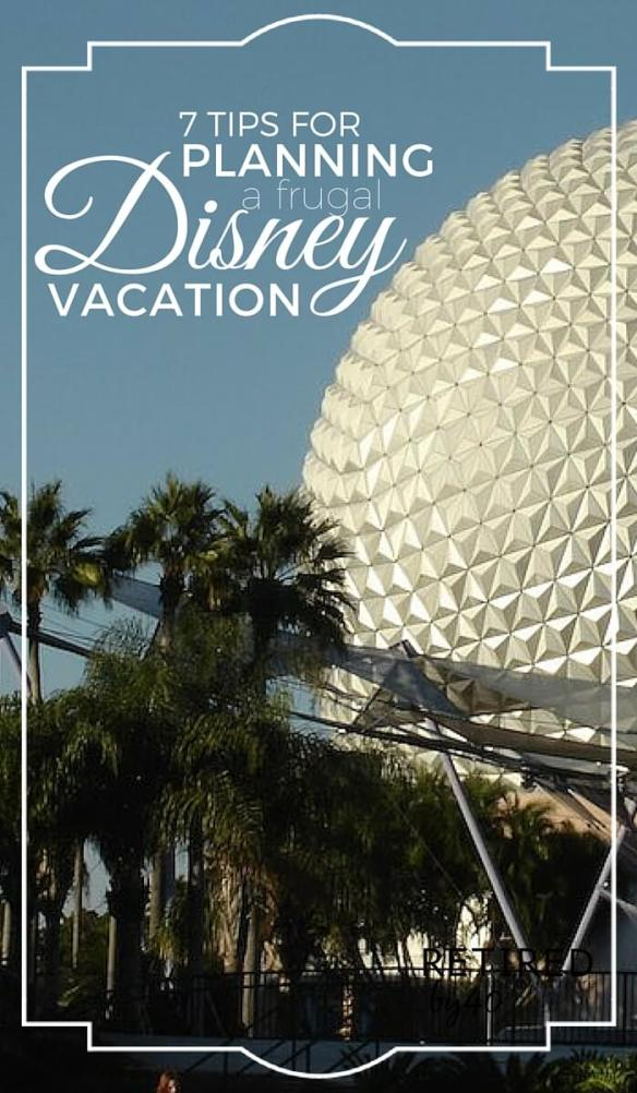 With these seven easy tips you can plan a frugal Disney vacation & have the vacation of a lifetime, while still keeping your wallet happy too.