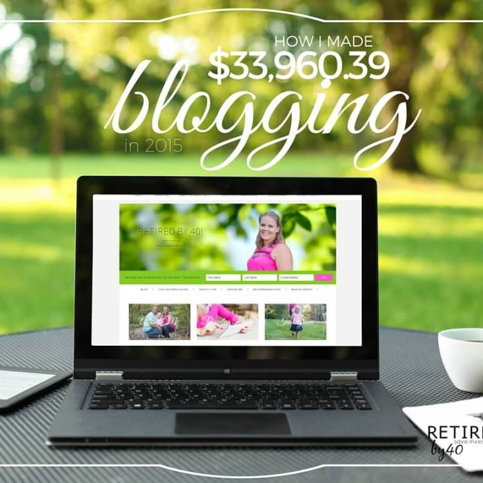 How I Made $33,960.39 Blogging in 2015