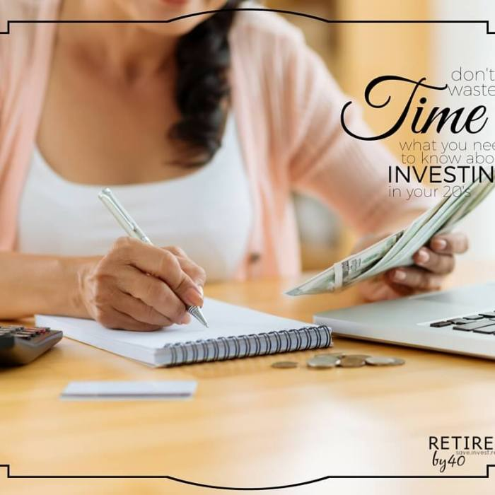 Don't Waste Time: What You Need To Know About Investing In Your 20's