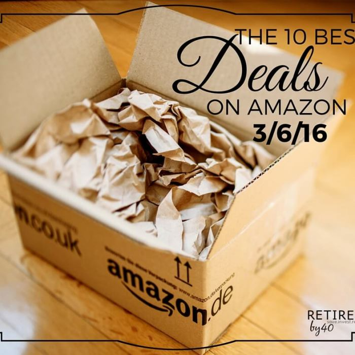 10 Best Amazon Deals 3/6/16