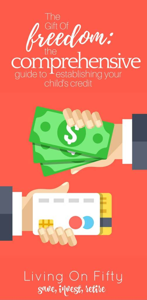 Helping your child establish credit may seem like a risky proposition, but with these 4 strategies, you can start building your child's credit long before they know what credit it - with almost no cost to you.
