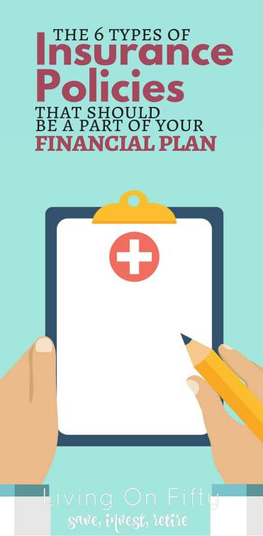 Have you covered every contingency? It may seem like a lot, but there are 6 different types of insurance policies you should have as a part of your financial plan. Here's why: