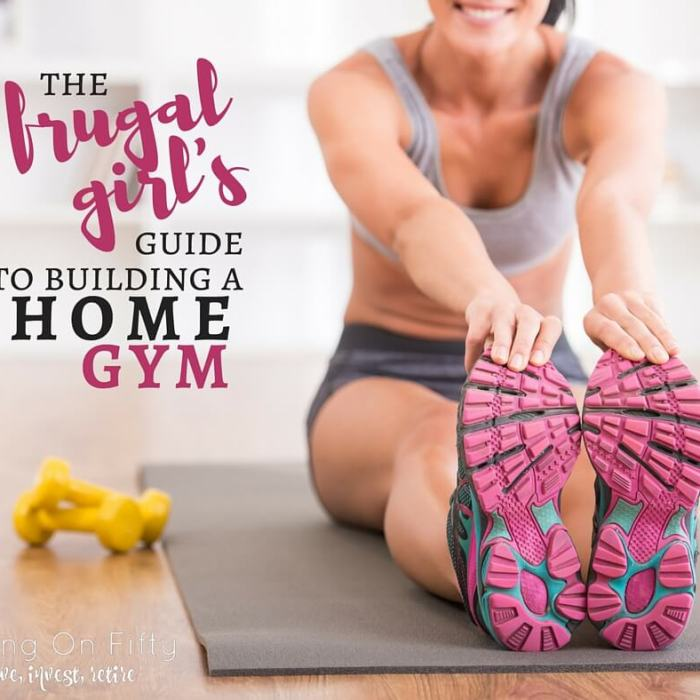 The Frugal Girl's Guide To Building A Home Gym