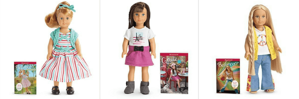 Have a little girl who loves American Girl? These American Girl Mini Doll & Book Sets just went on sale for 40% off - hurry, these won't last long!!!