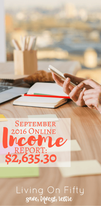 My latest online income report is up! See how I'm working smarter, not harder, learning new things about blogging, and helping other bloggers on the way!