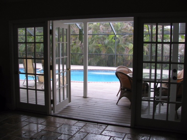 Siesta Key, Florida: home with inclosed pool
