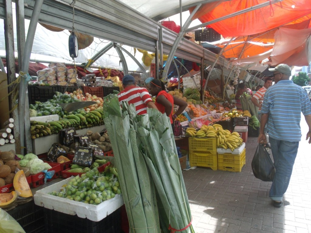 Curacao Boat Market Stall